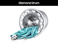 diamond drum in samsung washing machine
