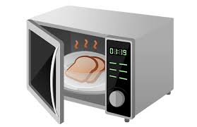 microwave oven uses